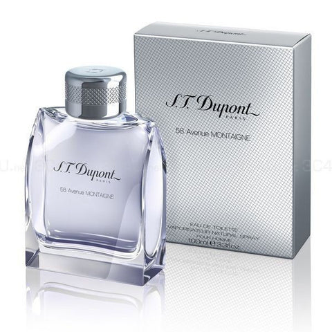 S.T.Dupont PARIS 58 Avenue MONTAIGNE EDT/MEN/100ml - BonjourCosmetics.net