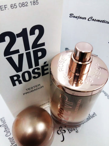 212 VIP Rose carolina herrera EDP 80ml WOMEN (TESTER Packaging)
