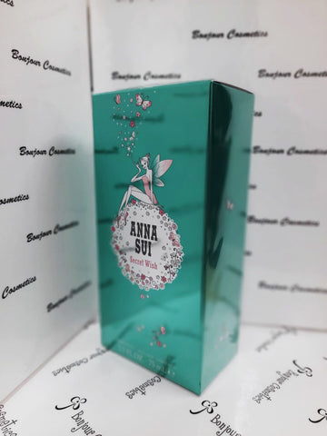 ANNA SUI Secret WISH eau de toilette 75ml (ORIGINAL Packaging)