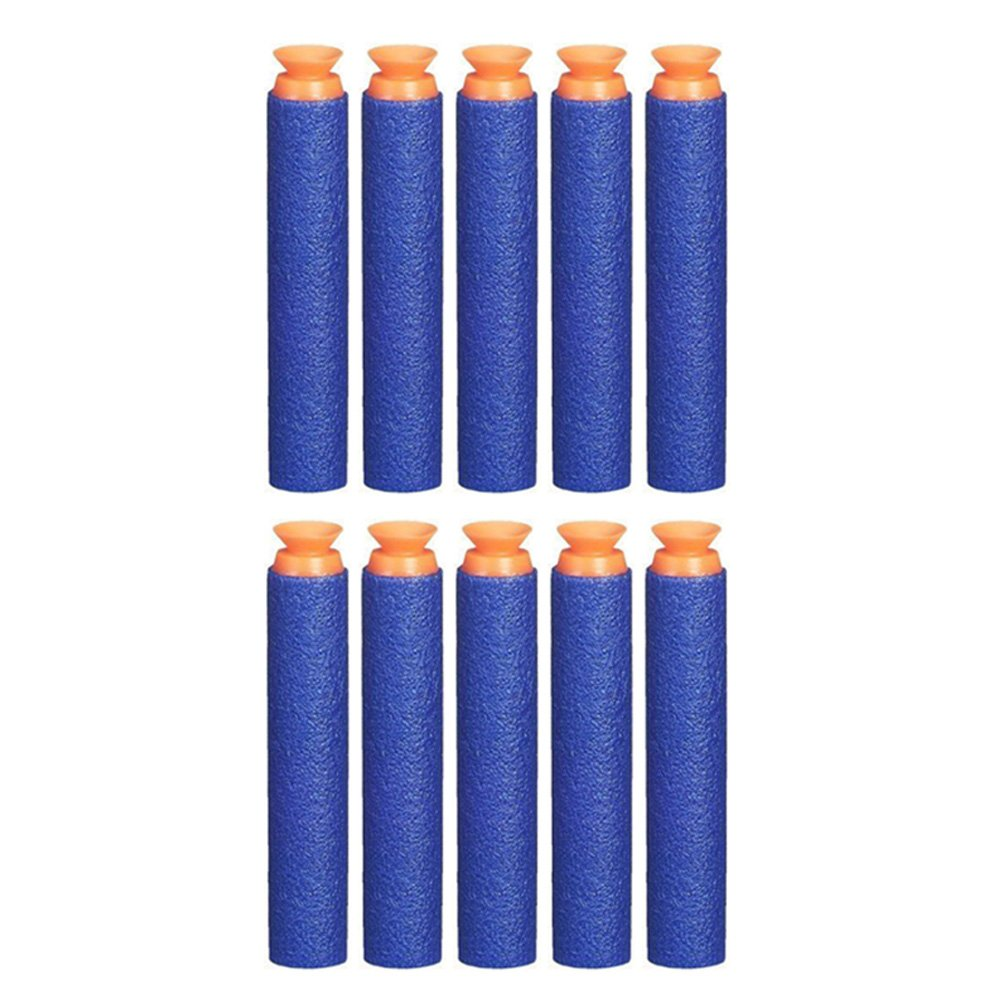 Toyshine Sunshine Soft Round Foam Dart Bullets (Blue)-30 Pieces
