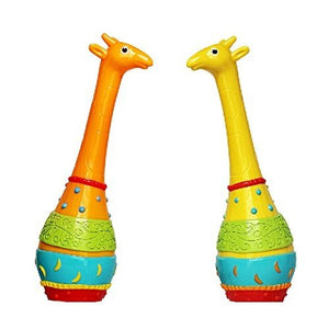 Toyshine 2 in 1 Giraffe Rattle Toy, Non-toxic