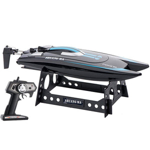 Toyshine SM 7014 High-Speed Remote Control Boat Ship, 14.2 KMP/H. Rechargeable, Assorted Color