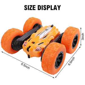 Toyshine Pioneer Stunt RC Car 4WD Remote Control Car 360 Degree Flips Double Sided Rotating Stunt Car