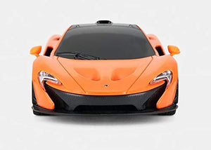 Rastar 1:24 McLaren P1 Remote Control Car, with Lights, Orange, TOYSHINE - 76