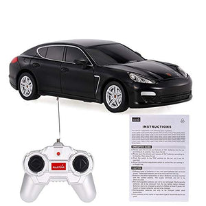 Rastar 1:24 Porsche Panamera Remote Control Car, with Lights, Black, TOYSHINE - 28