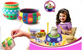 Toyshine Pottery Wheel Game with Colors and Stencils, Creative Educational Toy
