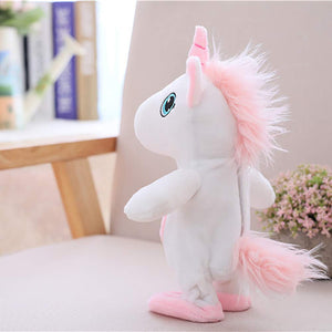 Toyshine Big size Moving and Talking unicorn Repeats What You Say Toy Doll