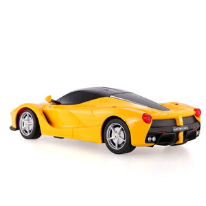 Rastar 1:24 Ferrari LaFerrari Remote Control Car, with Lights, Yellow, TOYSHINE - 62