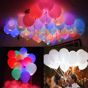 Toyshine LED Balloons (Heavy 2.8 Grams) for Birthday Party, Celebrations, Pack of 20