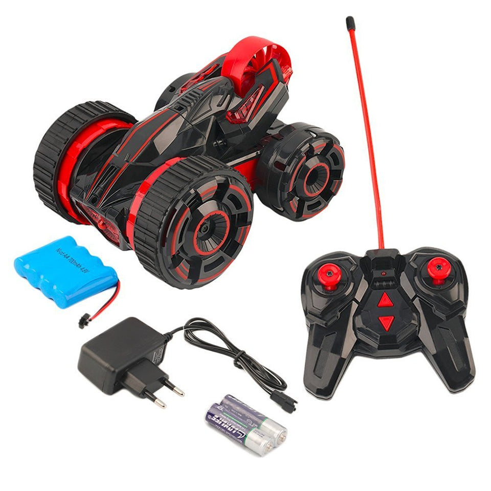 Toyshine MKB 5 Remote Control Stunt Car With Lights- MULTI COLOR