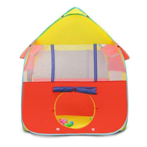 Toyshine Foldable Kids Children's Indoor Outdoor Pop up Play Tent House Toy (Multicolour)