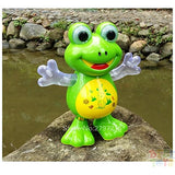 Toyshine Dancing Frog with Music Flashing Lights and Real Dancing Action, Multi Color