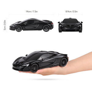 Rastar 1:24 McLaren P1 Remote Control Car, with Lights, Black
