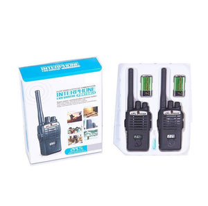 Toyshine Gizmo Interphone Walkie Talkie Set for Kids, Black