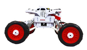 Toyshine Big Size 1:14 Tiger Remote Control Car, Rechargeable, With Claws, WHITE