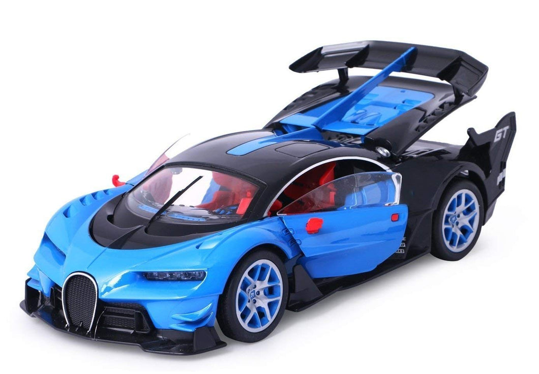 Toyshine Modified Super Car Remote Control Car, Rechargeable, Opening Doors