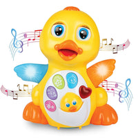 Toyshine Latest Educational Musical Duck Toy - Multi-Color