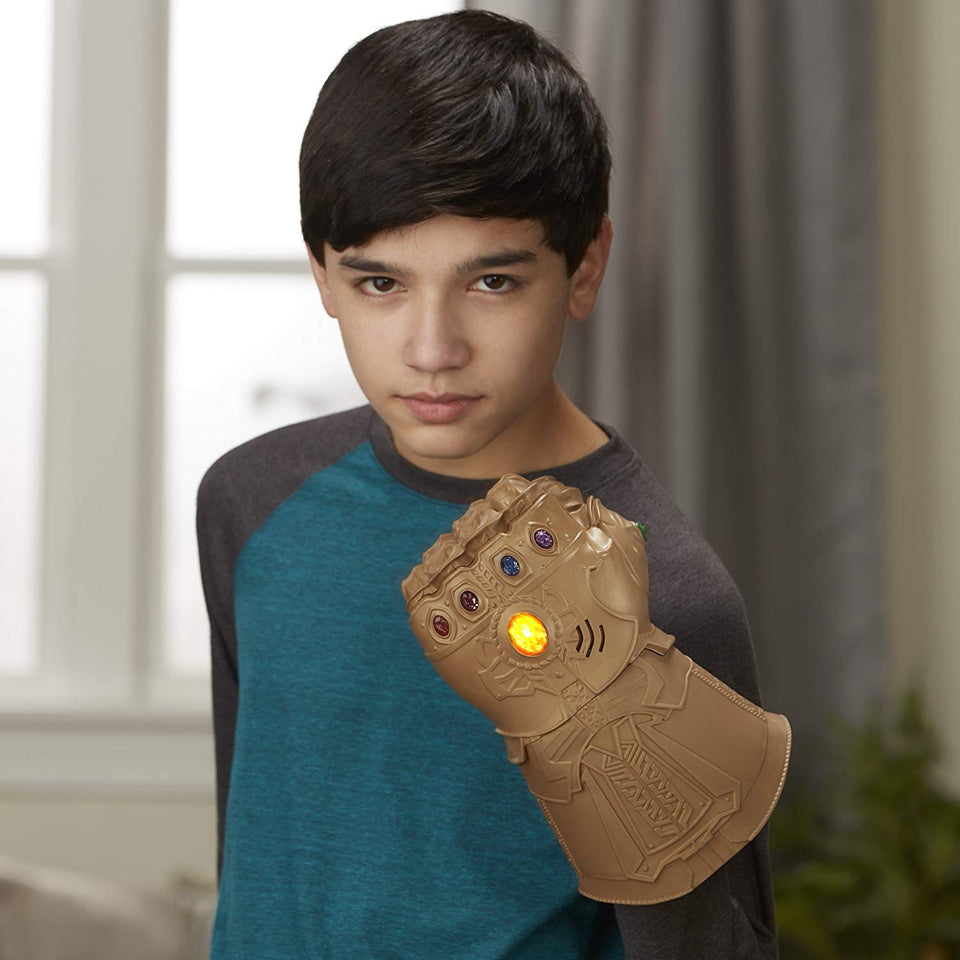 Avengers Thanos Infinity Gauntlet Glove with LED Lights for Kids