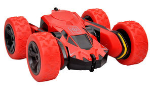 Toyshine Stunt Rechargeable Atom Max Remote Control Car (Red)