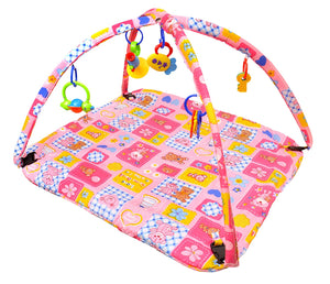 Toyshine Baby's Playmat Gym with Toys, Made of Non Toxic Materials