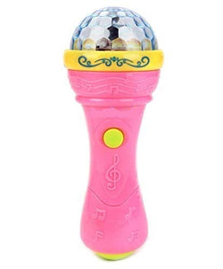 Toyshine Fashion Music Microphone with 3D Lights (Assorted - Color may vary)