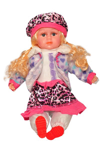 Sunshine 20 Inches Musical Soft Doll with Touch Sensors (Assorted)