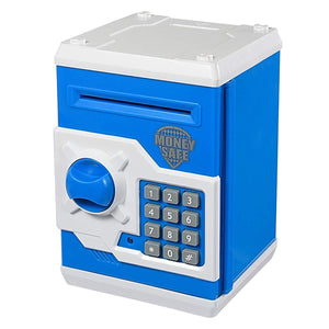 Toyshine Money Safe Kids Piggy Savings Bank with Electronic Lock (multicolor)
