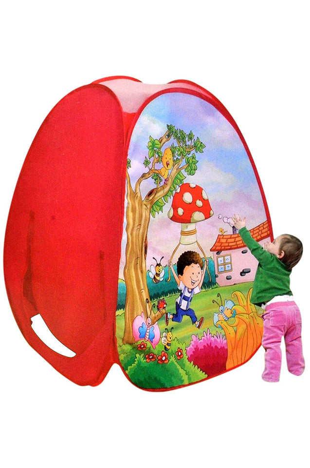 Sunshine Gifting Pop Up Kids Play Tent House Picnic Hut, Pink