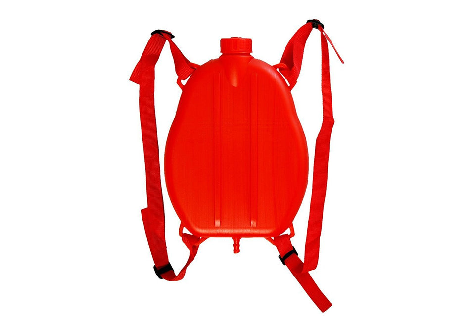 Toyshine Holi Water Pichkari with Pressure with Back Holding Tank (1.75 L) - Red