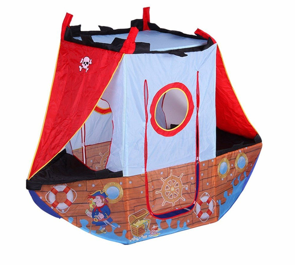 Toyshine Pirate Ship Tent House Play House Toy
