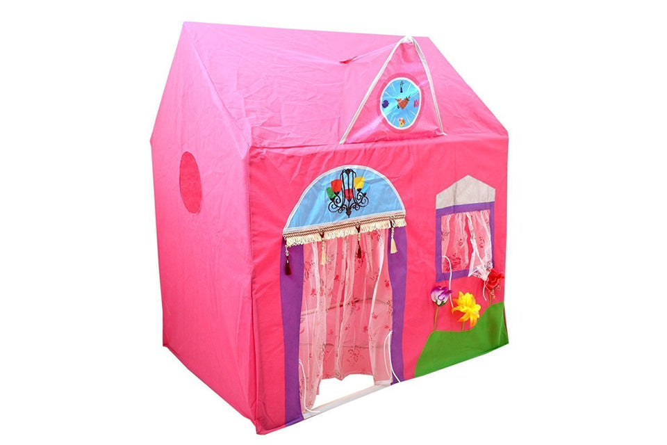 Toyshine Kid's Jumbo Size Queen Palace Tent House (Pink)