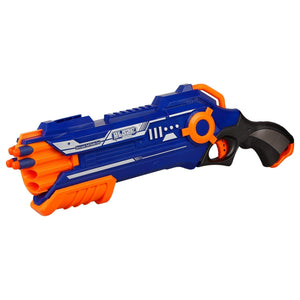 Toyshine Terminator Foam Blaster Gun toy, Shoots 2 Darts at a time
