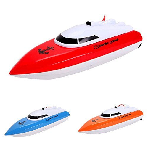 Toyshine Remote Control Toy Boat Ship, Ride in Water, 35 Meter Range, Assorted Color