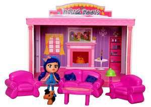 Toyshine DIY Living Room Doll House Toy, Role Play House