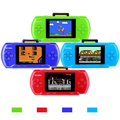 Toyshine 2.7 inch LCD Display PVP Pocket Game Console with 1 Game Card, Assorted Color