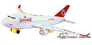 Toyshine Airbus Toy, Musical Airbus Aeroplane for Kids, Assorted Color