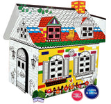 Toyshine Make and Paint Your Own Dream House Creative Game - 2
