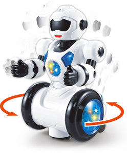 Toyshine Gizmo Robot with 3D Lights and Music, Multi Color
