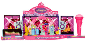Toyshine 2 in 1 DIY Doll House Toy, Doll Included, Rock Party and Dressing Room