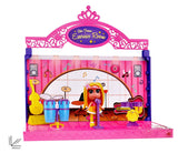 Toyshine DIY Exercise Room Doll House Toy, Role Play House, Toy for Girls