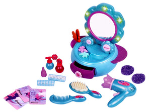 Toyshine 16 Pcs Dressing Table Beauty Set Toy with Music and Lights