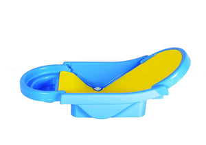 Toyshine Foldable Non-Toxic Plastic Baby Bath Tub with Anti-Slip Base (Assorted)