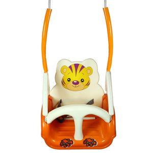 Toyshine Baby Swing with Multiple Age Settings and Safety Handle, Lock Belt, 1-5 Years (Assorted Colour)