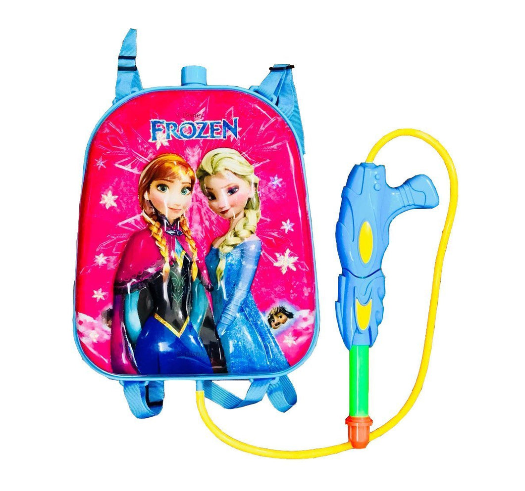 Toyshine Startoys Holi Pichkari Gun with High Pressure, Back Holding Tank, 3.0 L, Frozen, Blue