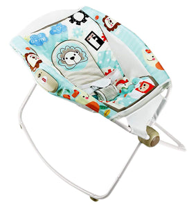 Toyshine Deluxe Sleeper Baby Rocker with Calming Vibrations, Assorted Design