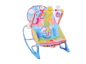 Toyshine Newborn to Toddler Music and Vibrating Rocker Chair, Adjustable Mode, Assorted Design