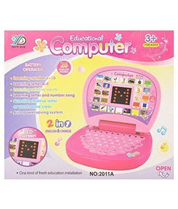 Toyshine Education Learning Laptop with LED Display and Music