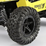 Toyshine 1:16 Scale 2.4GHz The King Cheetah Turbo Radio Control Off Road Monster Truck, Assorted Color