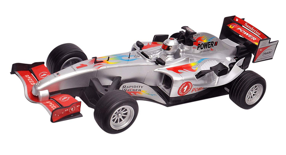 Toyshine F1 Racing Remote Control Car, Rechargeable, Assorted Color