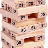 Toyshine Wooden 48 Wooden Building Block, Party Game, Tumbling Tower Game